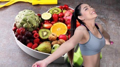 חיטוב זרועות ומזון בריא