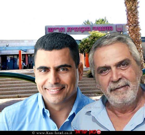 מוטי אדרי עם אריק מויאל
