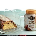 עוגה בחושה עם ממרח טחינה סילאן וקוקוס