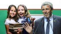 שר החינוך רבי רפי פרץ | עיבוד צילום: שולי סונגו ©