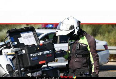 שוטר אופנוען של משטרת ישראל-אגף התנועה   תמונת אילוסטרציה, צילום: דוברות המשטרה   עיבוד צילום: שולי סונגו ©